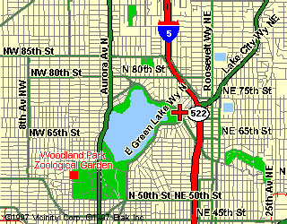 Green Lake Map